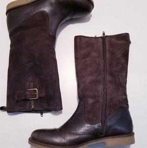 |Zara| Girls Leather/Suede sz- 38/7.5 -8